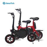 Bici ad alta velocità di Ebike di nuova della gioventù di Smartek di versione di Velo della città della bicicletta spinta elettrica di piegatura con 10inch la gomma posteriore P12