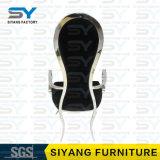 Cadeira de jantar de couro da cadeira do hotel da cadeira do braço de China do distribuidor da mobília