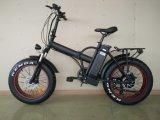 20'' de la grasa plegable bicicleta eléctrica de la batería de litio de neumáticos