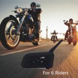 Беспроволочная внутренная связь Bluetooth шлема мотоцикла для 6 Interphone всадников 1200m GPS