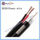 Energie des CCTV-Kabel-zusammengesetzten Kabel-Rg59+2c