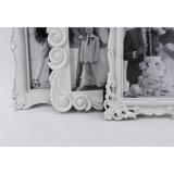 Het witte Frame van de Foto van de Injectie van het Huwelijk