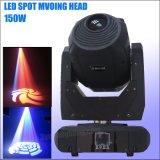 Venta caliente etapa LED 150W luz que se mueve la cabeza Spot