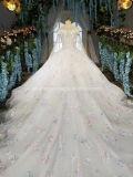 Hall Designs de marca vestido de noiva fotos de marfim