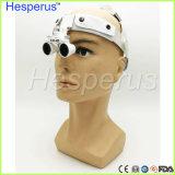 Do ângulo ajustável cirúrgico dental das lupas do desgaste da cabeça das lupa da lupa de Headwear uso fácil Asin