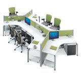 직업적인 중국 공급자 6 시트 사무실 워크 스테이션
