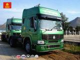 Euro de HOWO 371HP 4X2 2 camions lourds d'entraîneur