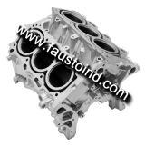 El bloque de motor V6 de aluminio a presión la fundición
