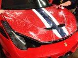 Supercar setzte hohe Helligkeits-Auto-Lack-schützenden Film ein