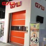 Elevadores eléctricos de PVC para salas brancas Porta Roll Up Interior rápida