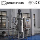 5000L de acero inoxidable revestido de alta presión piloto de la cristalización de Biodiesel reactores químicos