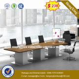 Conception funky de grande taille en bois Table de conférence (HX-8N1043)