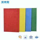 Écran antibruit coloré estampé de fibre de polyester d'animal familier pour KTV
