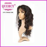 pelucas llenas del cordón de la Virgen 7A del pelo humano de Glueless de la onda brasileña de la carrocería