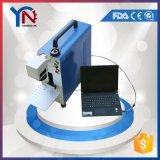 3D金属のための携帯用小型カラーファイバーレーザーのマーキング機械
