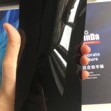 Capa brillante del polvo del efecto del espejo del negro de la muestra libre del surtidor de China alta