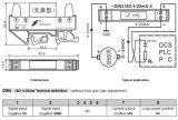 - De compacte Standaard Op rails gemonteerde Actieve 4-20mA Input van DIN Lijn Aangedreven convertor-DIN3 is
