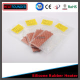 Chaufferette personnalisée flexible en caoutchouc de silicones