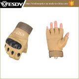 Taktischer Airsoft halber Finger-komprimierende Jagd-Militärarmee-Handschuhe