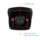 Wdm-H. 265 2.0MP IR IP Bullet 4x Zoom (2.8-12mm lente autoiris) Cámara