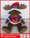 Jouet chaud de bébé de vente de renne de Noël