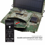 15W verdoppeln Zellen-Sonnenkollektor-Aufladeeinheit USB-Sunpower