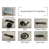 Sistema de Navegação GPS Android Caixa para Peugeot 208 Mrn Smeg+ Interface de Vídeo