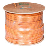 Ce/RoHS aprobado UTP CAT6un cable LAN / Cable de red