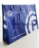 リサイクルされたBOPPによって薄板にされる非編まれた昇進PPによって編まれるショッピング・バッグ