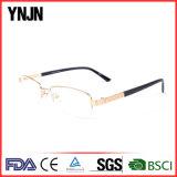 Рамка Eyeglasses способа золота логоса новой конструкции Ynjn изготовленный на заказ (YJ-J7928)