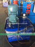 상해 중국의 기계를 형성하는 물결 모양 장 롤