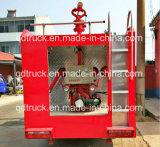4000 van het Water van de Tank Liter van de Vrachtwagen van de Brandbestrijding, de Kleine Vrachtwagen van de Brand van de Tank van het Water