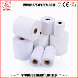 Papel termal de la base de la talla de papel/plástica del cliente
