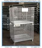 Envase galvanizado plegable del acoplamiento de alambre del almacén con resistente