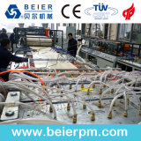 Extrudeuse plastique- bois (WPC) PE/PP/profil de fenêtre en PVC/board/panneau mural/Edge/Feuille de baguage/ Ligne de production d'Extrusion de tuyau