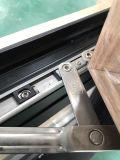 El doble de la ventana de aluminio templó la ventana esmaltada con diseño de la barra de la decoración de la parrilla
