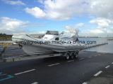 Liya 830 barcos de lujo Hypalon China gran barco