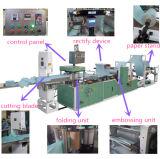 Papier et plastique gravant la machine composée de rebobinage