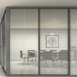 Puerta de la partición de cristal del marco de la aleación de aluminio para la oficina de lujo