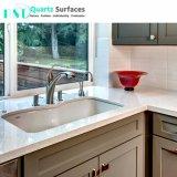 Miroir blanc Fleck Quartz pour comptoir en pierre