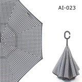 거꾸로 한 우산 C 손잡이 방풍 폴딩 거꾸로 리버스 선전용 우산