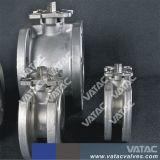 Tipo Wafer Operada por Alavanca da Válvula de Esfera Flutuante