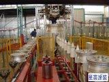 Cubo de rueda del coche de línea de producción de pulverización