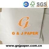 Precio barato de color blanco mate recubierto de papel para la producción de Bloc de notas