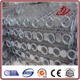 Gabbia industriale del sacchetto filtro del collettore di polveri di Baghouse
