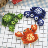Plush Caranguejo mar pequeno animal de brinquedo