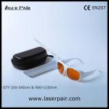 La línea 2 y Yag Láser Ktp Gafas de seguridad y protección láser gafas de Laserpair