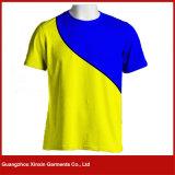 Camisas 100% lisas por atacado do algodão T do branco para os homens (R109)