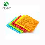 Tapis en silicone carrés personnalisé/ isolement Pad