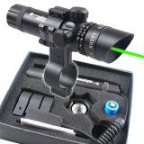 Het groene Werkingsgebied van de PUNT van het Gezicht van de Laser met Onderstel 8 Cijfer zet op